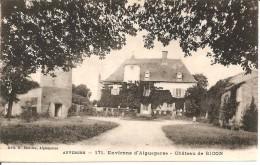 63 - ENVIRONS D'AIGUEPERSE,  CHÂTEAU DE BICON (ECRITE) - Aigueperse
