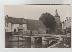 CPSM MANOIS (Haute Marne) - Le Pont Sur La Manoise - Frankreich