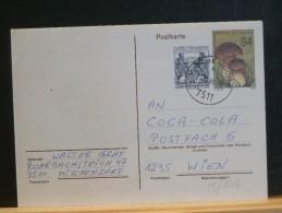 58/844    CP   AUTRICHE. - Funghi