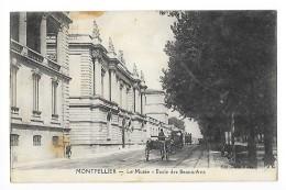 MONTPELLIER  (cpa 34)  Le Musée - Ecole Des Beaux-Arts  - - Montpellier