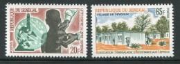 Sénégal Y&T N°245 Et 246 Neufs Avec Charnière * - Senegal (1960-...)