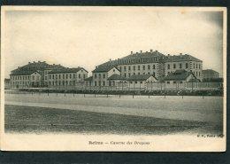 CPA - REIMS - Caserne Des Dragons  (dos Non Divisé) - Kasernen