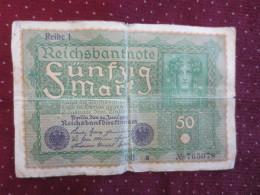 Reichsbanknote  50 - [ 3] 1918-1933 : République De Weimar