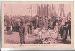 OSTENDE  Au Port Marche Aux Crevettes - Oostende