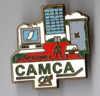 PIN´S CREDIT AGRICOLE CAMCA Securicompte - Banques
