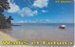 TARJETA DE WALLIS ET FUTUNA DE 25 UNITES DEL AÑO 2014 (la De La Foto) - Wallis And Futuna