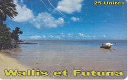 TARJETA DE WALLIS ET FUTUNA DE 25 UNITES DEL AÑO 2014 (la De La Foto) - Wallis En Futuna