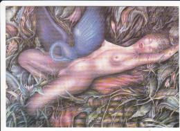 CPM FEMME SEXY NUE LEDA CYGNE I DISTLER COLLECTION DUMOULIN N°4  1000 EXPL - Illustratori & Fotografie