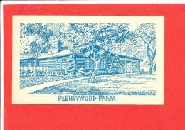 PLENTYWOOD FARM BENSEVILLE ILLINOIS Cpa Entier Postal - Etats-Unis