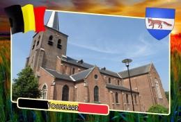 Postcard, Municipalities Of Belgium, Vosselaar, Flemish Region - Landkarten