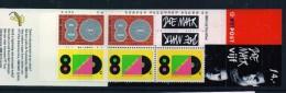 """PIA - OLANDA - 2000 : Francobolli """"Sorpresa"""" : Omaggio Al Gruppo Di Musica POP Doe Maar - (Yv Carnet C1775) - Libretti"""
