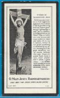 Bidprentje Van Emma-Marie Verbeke - Sint-Laureins - Brussel - 1876 - 1925 - Images Religieuses
