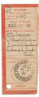 OBLITERATION MANUELLE DE FONTENAY LE COMTE (VENDEE) DU 11/1/1934 - Marcophilie (Lettres)