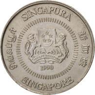 Singapour, 10 Cents, 1990, British Royal Mint, SUP, Copper-nickel, KM:51 - Singapore