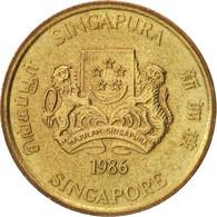Singapour, 5 Cents, 1986, British Royal Mint, SUP+, Aluminum-Bronze, KM:50 - Singapore