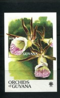 GUYANA POSTFRIS MINT NEVER HINGED NEUF SANS CHARNIERE YVERT BF 53 FLORA ORCHIDS - Guyane (1966-...)