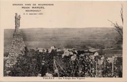 Volnay : La Vierge Des Vignes (Grands Vins De Bourgogne Henri Manuel, Meursault - Louys Et Bauer, Dijon) - Other Municipalities