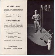 """Livret """"models"""" (modeles Nus Masculins, Phoenix, Arizona) (PPP3047) - Vieux Papiers"""