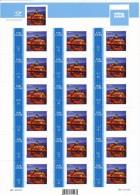 Estonia 2008 - My Stamp - View Of Narva  -  Sheet  18  Val - ST1836 - Estonia