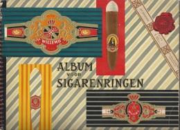 Album Voor Sigaren-ringen Met In Het Kort Verteld, Hoe Een Sigaar Bij Willem II Wordt Gemaakt. Valkenswaard 6 Scans. - Livres