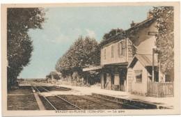BRAZEY EN PLAINE - La Gare, Lire Texte - Autres Communes