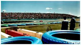 PHOTO GRAND PRIX FORMULE 1 NEVERS MAGNY-COURS 2001 , FERRARI - Automobili