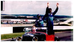 PHOTO GRAND PRIX FORMULE 1 NEVERS MAGNY-COURS 2002  , ALESI , HERBERT - Automobiles