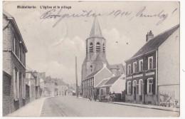 Middelkerke: L' église Et Le Village. (Erster Weltkrieg, 1914) - Middelkerke