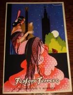 TARJETA POSTAL CIRCULADA FÓSFORO FERRERO. SERIE 2ª Nº 1. ANDALUCIA - Espagne