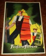 TARJETA POSTAL CIRCULADA FÓSFORO FERRERO. SERIE 2ª Nº 2. ARAGON - Espagne