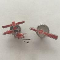Badge (Pin) ZN001571 - Satelite And Lunar Vehicles Space Program - Trasporti