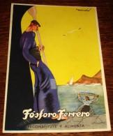TARJETA POSTAL CIRCULADA FÓSFORO FERRERO. SERIE 2ª Nº 4. VASCONGADAS - Espagne