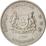 Singapour, 20 Cents, 1997, Singapore Mint, TTB, Copper-nickel, KM:101 - Singapour