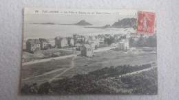 22 COTE-D'ARMOR VAL-ANDRE, Les Villas Et Tanguy Vus Des Monts-Colleux, 1921,  (L. L.) - France