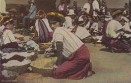 GUATEMALA, 20-40s : Market Scene , Santiago Atitlan - Guatemala