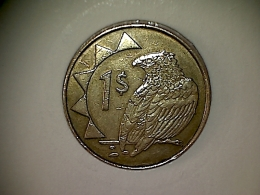 Namibia 1 Dollar 1993 - Namibië