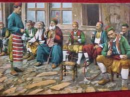 Cpa TURQUIE Animée CAFE TURC  , FUMEURS Assis Avec NARGHILE , Nargiles , PIPE A EAU , TURKISH PUB Old Pc , Recto Verso - Europe