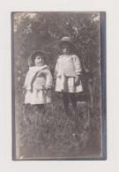 ANTICA FOTO 1912 COURMAYEUR BAMBINI VALLE D´AOSTA - Sin Clasificación