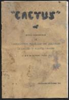 """""""CACTUS"""" Revue De 1947 Pour Les Amateurs De Cactées Et Plantes Grasses - Jardinage"""