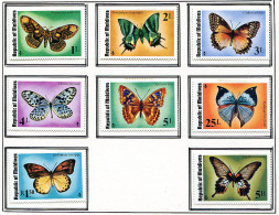(cl.38 - P.27) Maldives * N° 557 à 564 - Papillons - - Butterflies