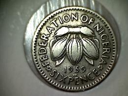Nigeria 6 Pence 1959 - Nigeria