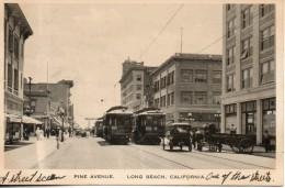 Etats Unis. Long Beach. Pine Avenue - Long Beach