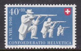 Switzerland 1950 Sports Target Shooting, MNH - Zwitserland