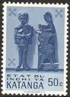 Katanga - 1961 - Art Indigène – YT 54 Neuf Sans Charnière - MNH - Katanga