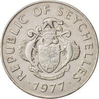 Seychelles, Rupee, 1977, British Royal Mint, TTB, Copper-nickel, KM:35 - Seychelles