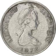 Seychelles, Cent, 1972, British Royal Mint, TB, Aluminum, KM:17 - Seychelles