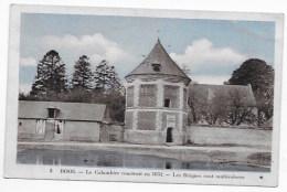 CPA 76 BOOS LE COLOMBIER CONSTRUIT EN 1632  LES BRIQUES SONT MULTICOLORES - Francia