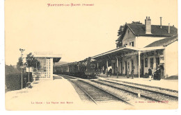 MARTIGNY Les BAINS- La Gare- Le Train Des Eaux. - France