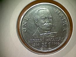 Nigeria 1 Naira 1991 - Nigeria