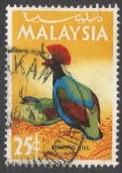 Malaysia. 1965 Birds. 25c Used. SG 20 - Malaysia (1964-...)